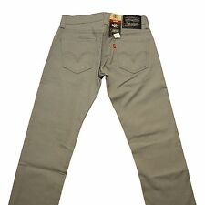 LEVIS 511-0116 Light Grey Extra Slim Fit Straight Leg Jeans