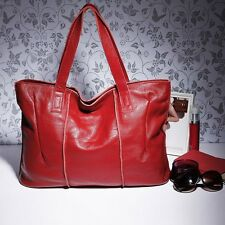 Solid Hobo Leather Totes Stone Mountain Handbags Large Work Bags For Women