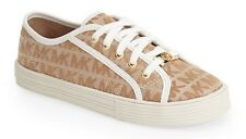 NWT GIRLS MICHAEL KORS CAMEL SIG MK IVY NETTLE 15 FASHION SNEAKERS SHOES