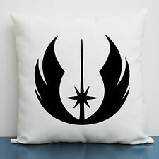 Star Wars Jedi Order Symbol Geeky Throw Pillow cover, The Force Awaken Gift Idea