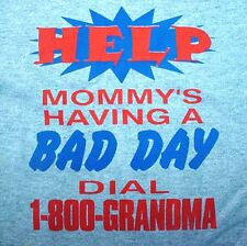 Help Mommy's Having A Bad Day Gray T-Shirt & Shorts Size 2, 3, Or 4