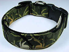 Charming Army Camouflage Spiders Dog Collar