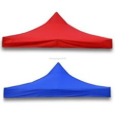 9.6x9.6' POP UP Tent Top Cover Folding Gazebo Beach Canopy Replacement+Carry Bag