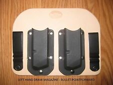 IWB - Kydex/Leather Hybrid Double Magazine Carrier