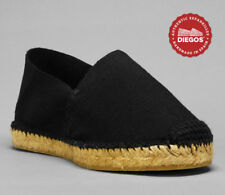 Authentic Black Flat Espadrilles Hand Made in Spain - Both for Men and Women