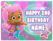 Bubble Guppies Molly Birthday Edible Image Cake Topper Personalized Icing Sheet