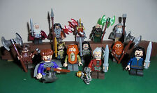 "Lego Selection lord of the rings/The Hobbit Mini figurines ""Dwarves"" Fili Thorin"
