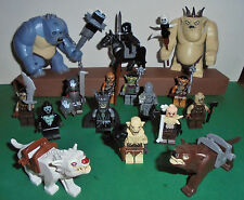Lego Selection lord of the rings/The Hobbit Mini figurines Goblin Troll Uruk ´s