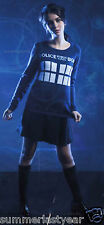 Doctor Who Tardis Sweater For Juniors ~BBC Doctor Who~ Free Shipping
