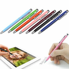 2 in1 Capacitive Touch Screen Stylus Pen + Ball Point Pen for iPad iPhone iPod