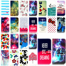 -YH5 Design PU Leather Flip Case Cover For Samsung Galaxy S3 S4 S5 S6 Edge G360