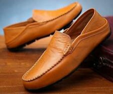 Hot sale slip on mens leather loafer casual dress formal car driving shoes new