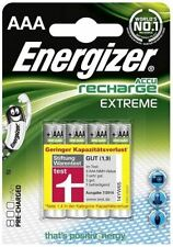Energizer 800MAh AAA Extreme 1.2V Accu Rechargeable Batteries