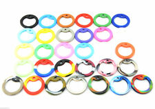 Pack of 10 Military Army ID Dog Tag Rubber Silicone Silencers Many Colors Choose