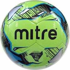 MITRE MISSION TRAINING FOOTBALL - NEON GREEN - Sizes 3 - 4 - 5