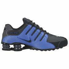 NIKE SHOX NZ 2016 BLACK BLUE MENS RUNNING ATHLETIC SHOES **FREE POST WORLDWIDE