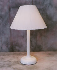 Table top lamp light, outdoor patio, deck, electric with lampshade weather proof