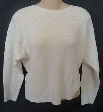 Womens AEROPOSTALE White Cropped Dolman Sweater NWT #8170