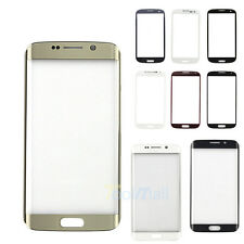 Front LCD Outer Glass Screen Lens Replacement For Samsung Galaxy S5/ S6/ S7 Edge