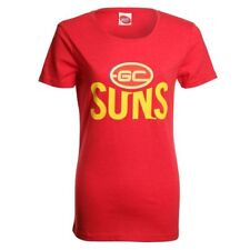 AFL Ladies Printed Logo Tee Gold Coast by AFL Store