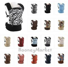 POGNAE Korean Premium Baby Carrier Ergonomic Multi Position Four Season 19Colors