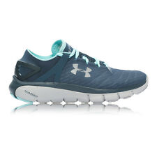 Under Armour Speedform Fortis Womens Blue Black Night Running Shoes Trainers