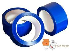 BLUE COLOURED Packing Parcel Tape 50mmx66m  *FREE PP*