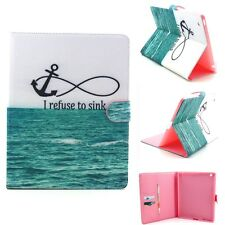 Magnet Flip Folio Leather Wallet Credit Card Slot Stand Case Pouch For Tablets G