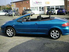 Peugeot 307 CC 2.0 16v ( 140bhp ) Coupe  S  CONVERTIBLE / HARD TOP