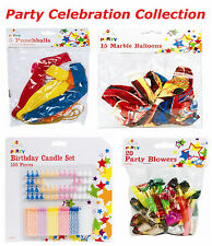Party Decoration Collections Marble/Punch Balloons/Birthday Candle/Party Blowers