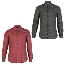 NEW GABICCI VINTAGE MENS LONG SLEEVE BUTTON UP PRINTED CASUAL SHIRT SIZE S-XXL
