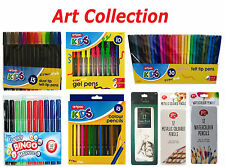 Art Craft Collection Colour Pencil /Thick & Thin Felt Tip Pen/Markers/Watercolor