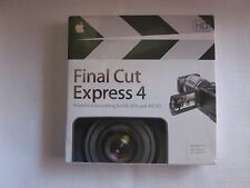 APPLE FINAL CUT EXPRESS 4 PART #MB279Z/A