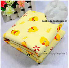Baby Changing Pad Infant Cotton Printed Cover Toddler Waterproof Urine Mat SIZE