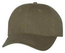 Dri Duck Moisture Wicks 100% Cotton Structured 6 Panel Brushed Twill Cap. 3220