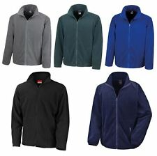 MENS FULL ZIP WORKWEAR HIKING WALKING OUTDOOR WARM FLEECE JACKET COAT     XS-3XL