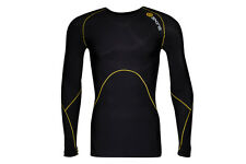 Skins SKINS A400 Mens Logo Line Compression L/S Top