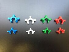 New 2 x 19/22 or 14/20 Joint Clips/Keck Clamps K Clips You Pick Size And Colors!