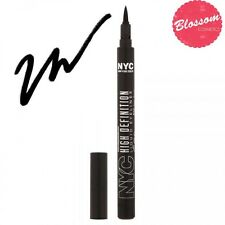 NYC High Definition Automatic Felt Tip Liquid Eye Liner Pen 889 EXTRA BLACK
