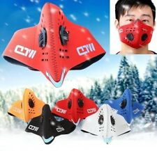 Motorcycle Ski Anti-pollution Mask Sport Mouth-muffle Dustproof W/ Filter Gray