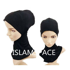 muslim islamic  full cover  inner cap hat underscarf hijab cover bonnet colors