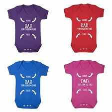 FLOSO Baby Girls/Boys You Can Do This Short Sleeve Bodysuit