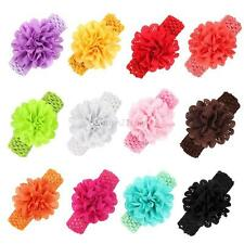Baby Infant Girl Kid Cute Flower Headband Hair Band Headwear Toddler Accessories