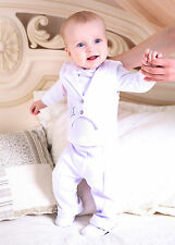 Baby Boy Suit Baptism Infant Outfit Christening Newborn 3PCS Suit Baby Clothes