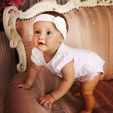 Baby Girl Bodysuit Newborn Clothes Baptism Baby Girl Bodysuit Christening Romper