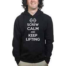 Keep Calm and Lift Sports Training Body Building Gym Sweatshirt Hoodie Shirt