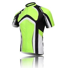 New Green Cycling Clothing Bike Jerseys Bicycle Biking Ropa Short Sleeve Clothes