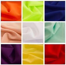 "POLY POPLIN FABRIC 10 YARDS OF 100% POLYESTER 60"" WIDE 24 COLOR Tablecloth Panel"