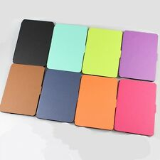 Collapsible PU Leather Flip Case Cover For Amazon Kindle Paperwhite 1/2/3 EXXPUK