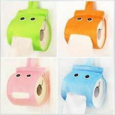 Plush Cloth Tissue Box Case Holder Toilet Paper Covers Hanging paper towel tube